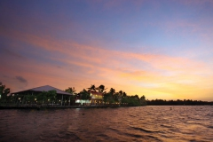 Grand Ayur Island--alleppey-backwater-scenery-in-the-sunset