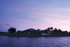 Grand Ayur Island-backwater-vew-in-the-night