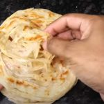 Porotta makaing - easy and soft- at home