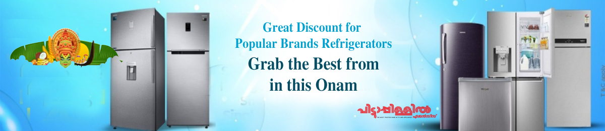 Onam offer - top brand-Refrigerators